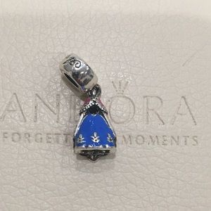 Pandora Disney Anna Dress Dangle Charm
